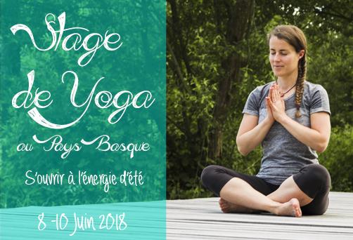 Stage de Yoga au Pays-Basque