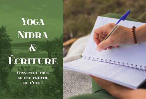 Yoga Nidra & Ecriture – Connectez-vous au feu créatif de l'été