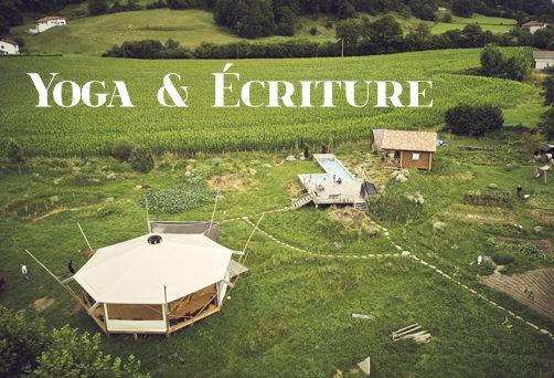 Retraite Yoga & Ecriture aux Fous du Village – Quand la Terre, le Feu, l'Eau et l'Air se Rencontrent