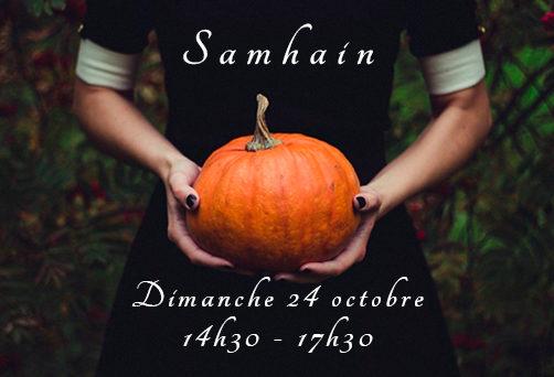 Atelier pour Samhain