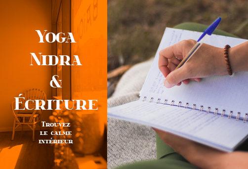Atelier Yoga Nidra & Écriture – Trouvez le Calme Intérieur